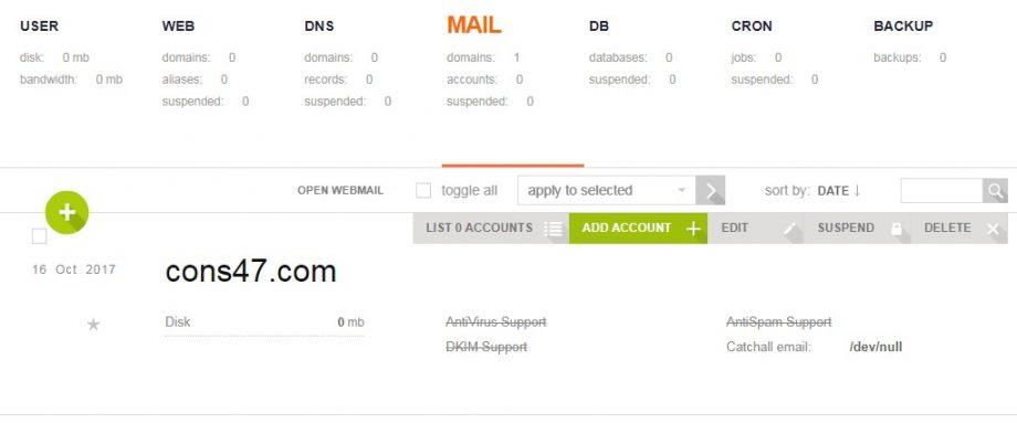 Cloudzone Email Hosting
