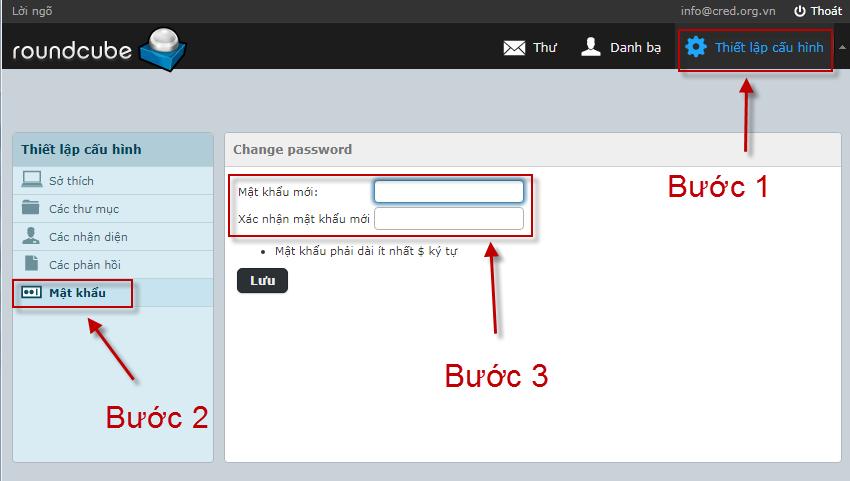Hướng dẫn sử dụng webmail và Outlook Cloudzone