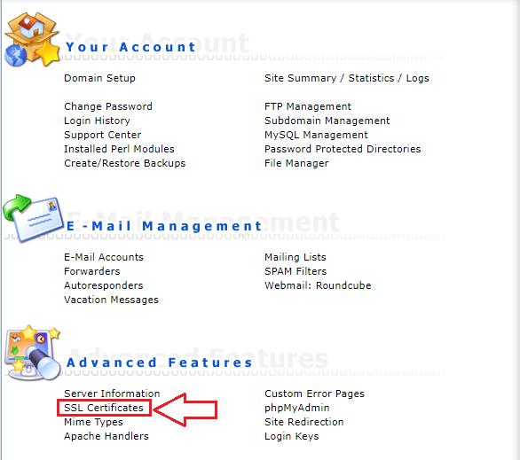 Hướng dẫn kích hoạt https cho người dùng hosting Direct Admin