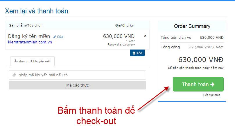 Hướng dẫn đăng ký domain